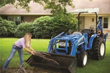 New Holland WORKMASTER 25 Tractor - Compact For Sale