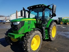 Tractor - Utility For Sale 2017 John Deere 6120R , 120 HP