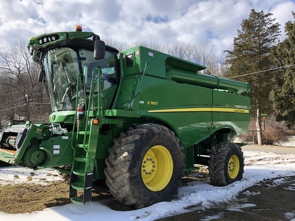 2018 John Deere S760 Combine For Sale