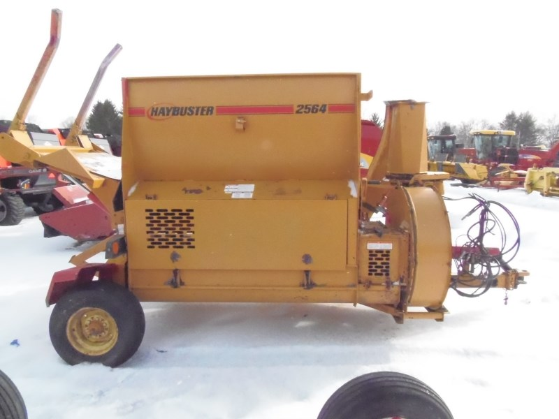 2016 Haybuster 2564 Bale Processor For Sale