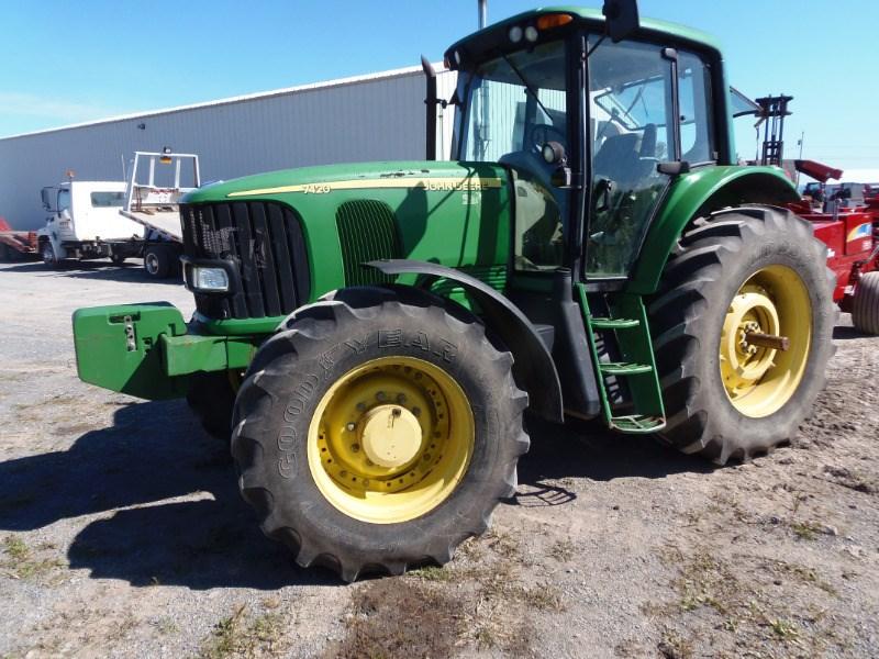 John Deere 7420 Tractor For Sale