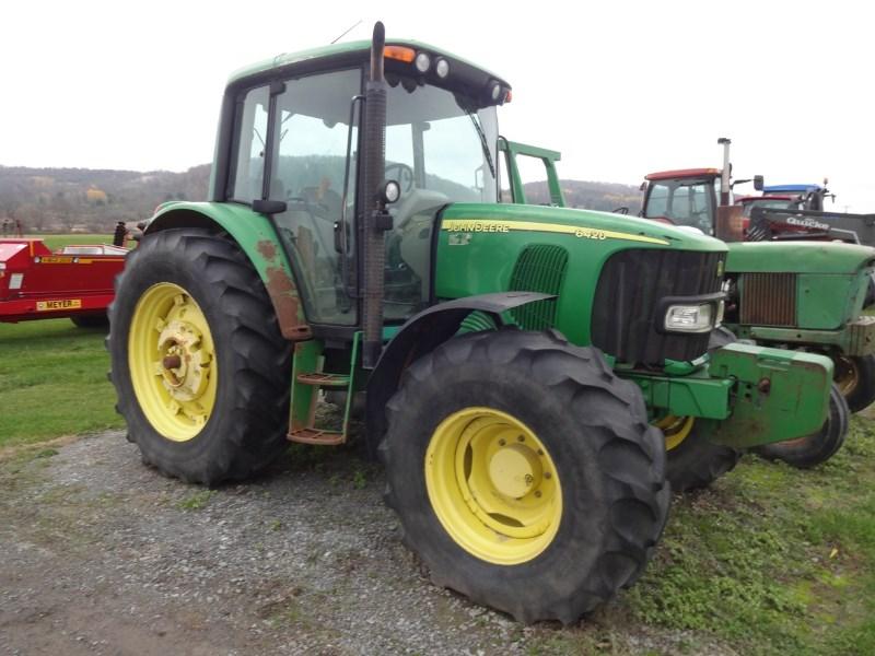 2005 John Deere 6420 Tractor For Sale
