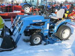 Tractor For Sale 1999 New Holland TC21 , 21 HP