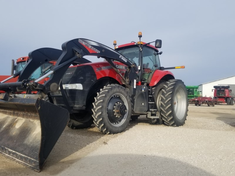 2012 Case IH MAG 260 Tractor For Sale