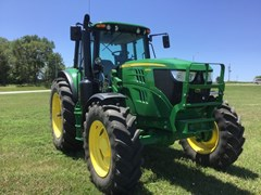 Tractor - Row Crop For Sale 2017 John Deere 6145M , 145 HP
