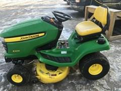 Riding Mower For Sale 2009 John Deere X300 , 17 HP