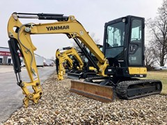 Excavator-Mini For Sale 2017 Yanmar VIO35-6A , 24 HP