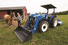Tractor For Sale:  New Holland Workmaster utility 60 , 60 HP