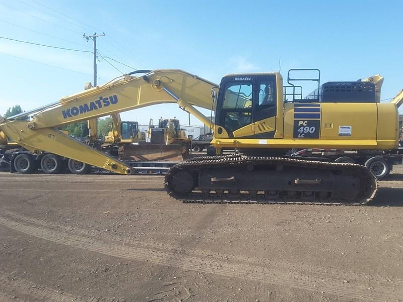 2013 Komatsu PC490LC-10 Excavator For Sale