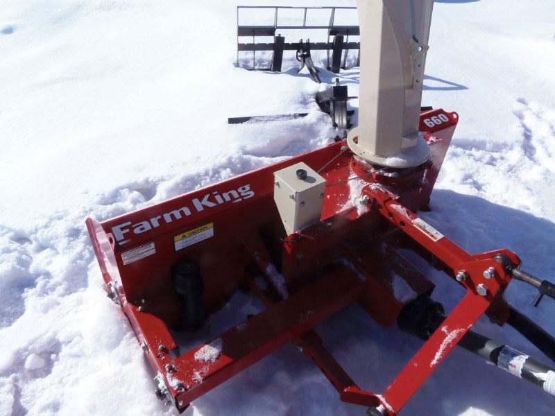 2018 Farm King Allied Y660 Snow Blower For Sale