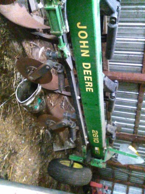 John Deere 2810 Plow For Sale