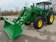 Tractor For Sale 2018 John Deere 6135E , 135 HP