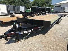 Equipment Trailer For Sale 2019 Diamond C DEC207L24X102
