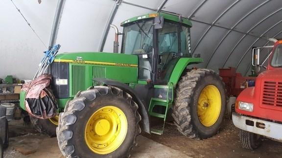 1993 John Deere 7600 Tractor For Sale