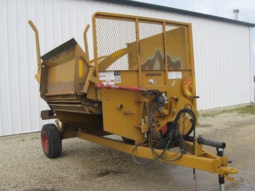 Bale Processor For Sale:  2016 Haybuster 2660