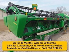 Header-Draper/Flex For Sale 2013 John Deere 640FD