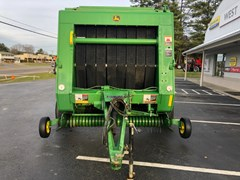 Baler-Round For Sale 2007 John Deere 557