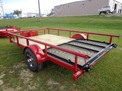Utility Trailer For Sale 2016 Midsota Manufacturing, Inc.  UT8312-RED-5.2K axle