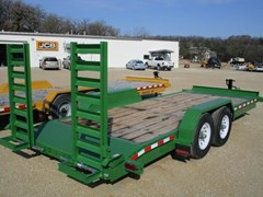 Equipment Trailer For Sale 2018 Midsota Manufacturing, Inc. ST-20--7K-Green