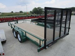 Utility Trailer For Sale 2018 Midsota Manufacturing, Inc. UT8318TA-18'-Dark Green-3.5K
