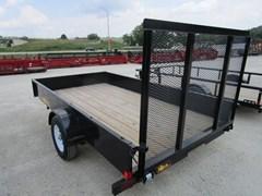 Utility Trailer For Sale 2018 Midsota Manufacturing, Inc. NOVA UT7712-12'-3.5K--Black
