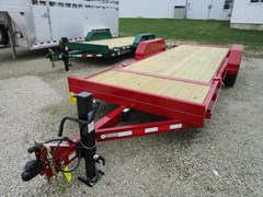 Equipment Trailer For Sale 2018 Midsota Manufacturing, Inc. TB-20'-tilt bed-7K--Red