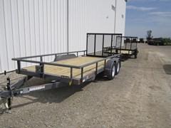 Utility Trailer For Sale 2018 Midsota Manufacturing, Inc. UT8316TA-16'-Gray-3.5K