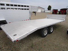 Equipment Trailer For Sale 2016 Aluma 20 ft flat deck aluminum tandem-5.2K