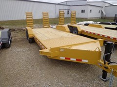 Equipment Trailer For Sale 2017 Midsota Manufacturing, Inc. ST-20--7K axles-Yellow