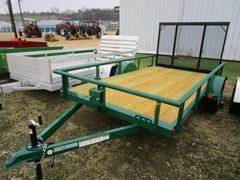 Utility Trailer For Sale 2018 Midsota Manufacturing, Inc.  UT7712-12''-3.5K--Dark Green