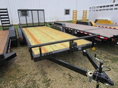 Utility Trailer For Sale 2018 Midsota Manufacturing, Inc. UT8318TA-18'-Black-3.5K
