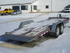 Equipment Trailer For Sale 2017 Midsota Manufacturing, Inc. TB-20' tilt-bed-7K-gray