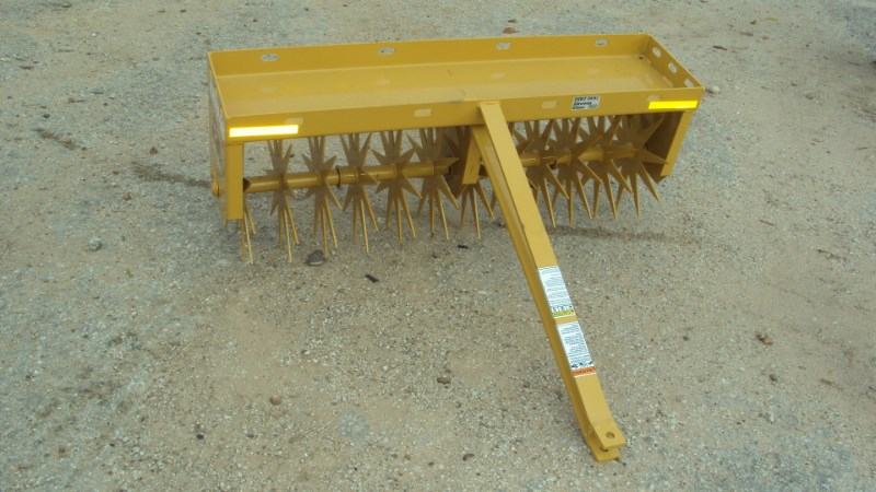 "Dirt Dog Dirt Dog 48"" pull type spike aerator ARVP48 Aerator For Sale"