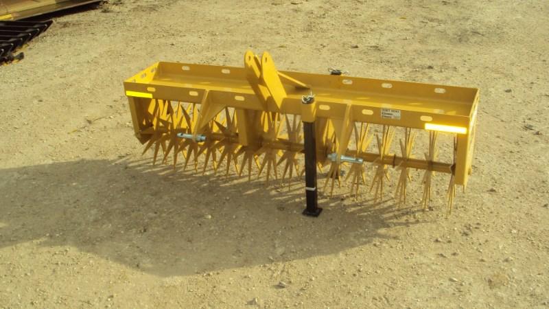 "Dirt Dog Dirt Dog 3pt 60"" Spike aerator CAR60 Aerator For Sale"