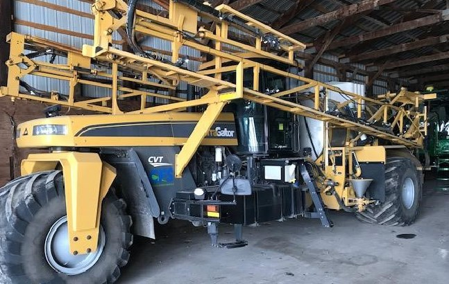 2012 Terra-Gator 7300 Floater/High Clearance Spreader For Sale