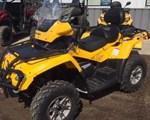 ATV For Sale: 2009 Can-Am 2009 Outlander Max 650XT YELLOW