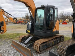 Excavator-Mini For Sale Case CX75Csr , 55 HP