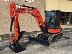 Excavator-Mini For Sale:  2018 Kubota KX040-4R3T , 40 HP