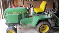 Riding Mower For Sale 1990 John Deere 322 , 18 HP