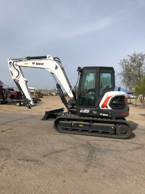 Bobcat E85 T4 NA Excavator-Track