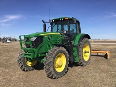 Tractor - Row Crop For Sale 2018 John Deere 6155M , 155 HP