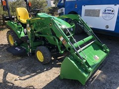 Tractor - Compact Utility For Sale 2018 John Deere 1023E