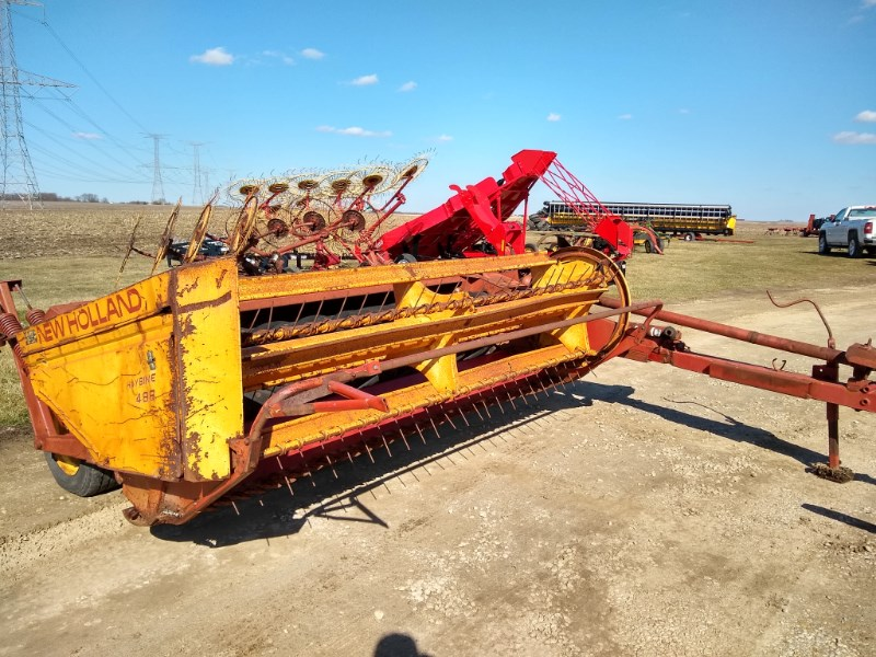 1991 New Holland 488 Sickle Mower Conditioner For Sale