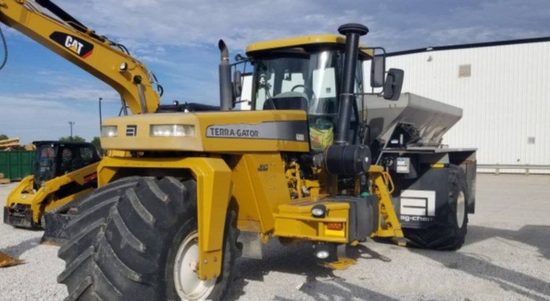 2009 Terra-Gator 6203 Floater/High Clearance Spreader For Sale