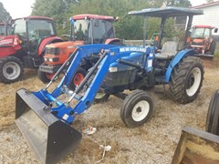 Tractor For Sale 2012 New Holland WORKMASTER 55 W/LDR , 55 HP