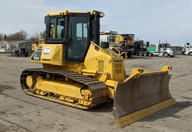 2010 Komatsu D51PX-22 Crawler Tractor For Sale