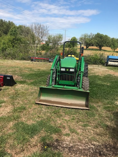 2010 John Deere 4105E Tractor For Sale