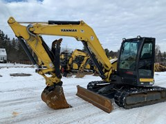 Excavator-Track For Sale:  2016 Yanmar VIO80-1A