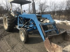 Tractor For Sale 1980 Ford 4600 , 60 HP