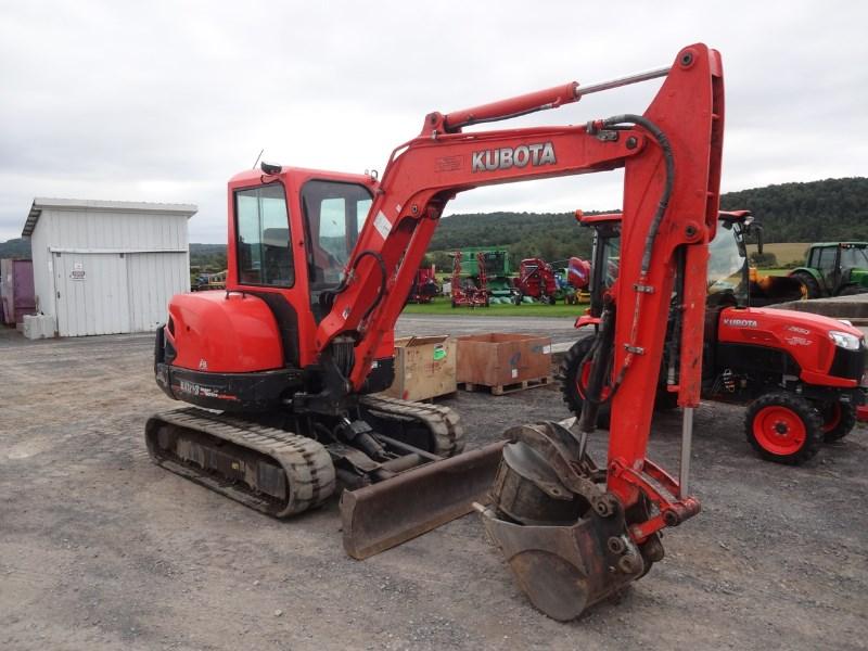 2012 Kubota KX121R3AT Excavator-Track For Sale